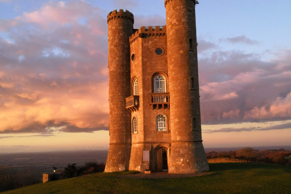 Broadway Tower, a hilltop folly