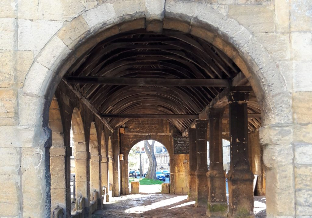 View inside the |Market Hall, Chipping Campden