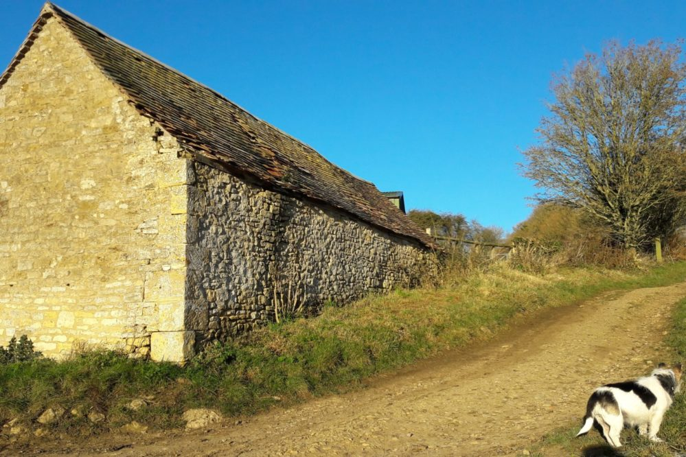 A Cotswold stone barn, Chipping Campden