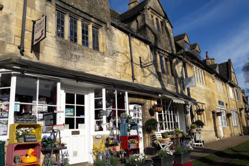 Frankie Doodle gift shop in Chipping Campden